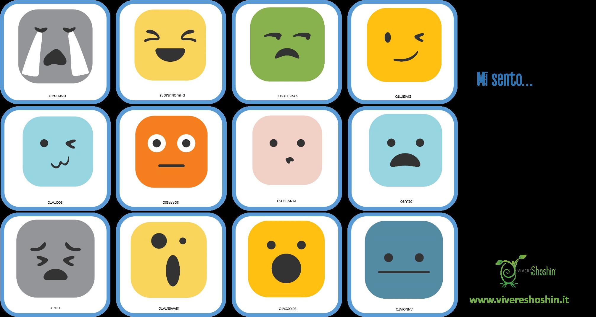 Strumenti per identificare le emozioni con i bambini