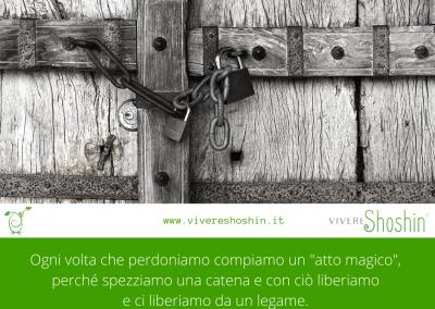 """Ogni volta che perdoniamo compiamo un """"atto magico"""", perché spezziamo una catena e con ciò liberiamo e ci liberiamo da un legame. – Roberto Assagioli"""