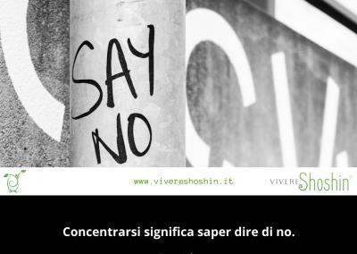 Concentrarsi significa saper dire di no. – Steve Jobs