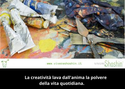 La creatività lava dall'anima la polvere della vita quotidiana. – Picasso
