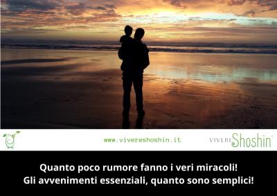 Quanto poco rumore fanno i veri miracoli! Gli avvenimenti essenziali, quanto sono semplici! – Antoine de Saint-Exupéry