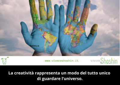 La creatività rappresenta un modo del tutto unico di guardare l'universo. – Aldo Carotenuto