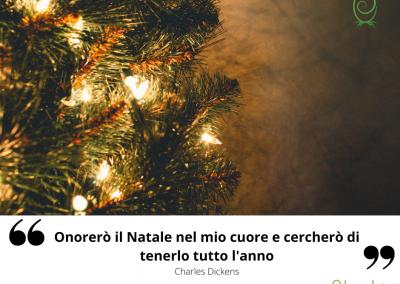 Onorerò il Natale nel mio cuore e cercherò di tenerlo tutto l'anno. – Charles Dickens