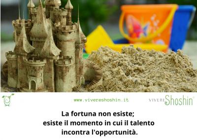 La fortuna non esiste; esiste il momento in cui il talento incontra l'opportunità. - Seneca