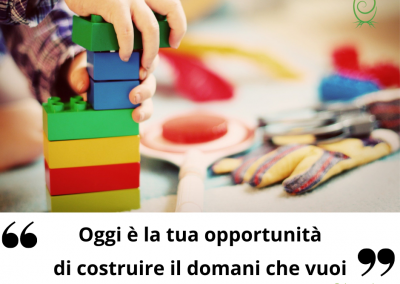 Oggi è la tua opportunità di costruire il domani che vuoi. - Ken Poirot