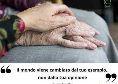 Il mondo viene cambiato dal tuo esempio, non dalla tua opinione. - Paulo Coelho