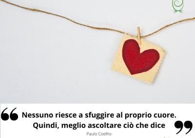 Nessuno riesce a sfuggire al proprio cuore. Quindi, meglio ascoltare ciò che dice. - Paulo Coelho